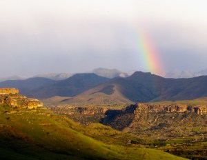 Self-drive route Clarens to Fouriesburg Rainbow