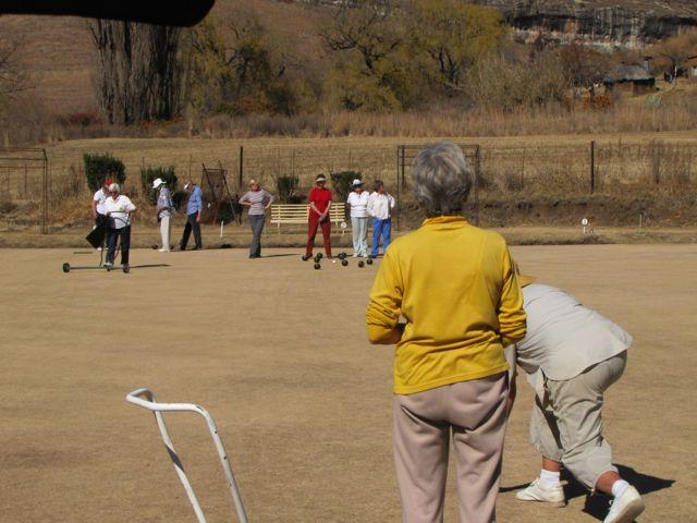 Bowling at Sunnyside Clarens