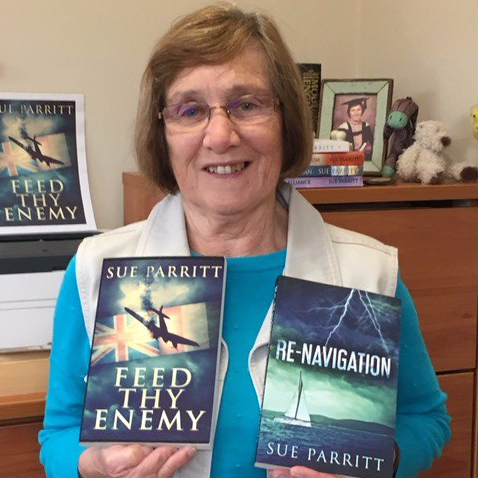 Author Sue Parritt