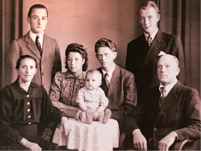 Adam and Family 1948