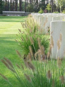 Australian graves on the Western Front