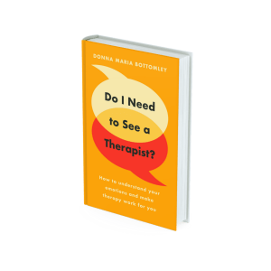 Book cover Do I Need to See a Therapist
