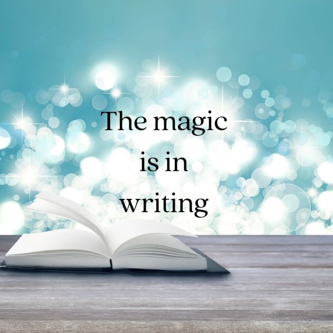 graphic: The Magic is in Writing