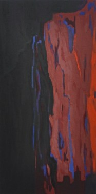 Empire of Rock. Oil on plywood. 120x60 cm