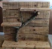 Rustic shelves (Free standing) €20.00