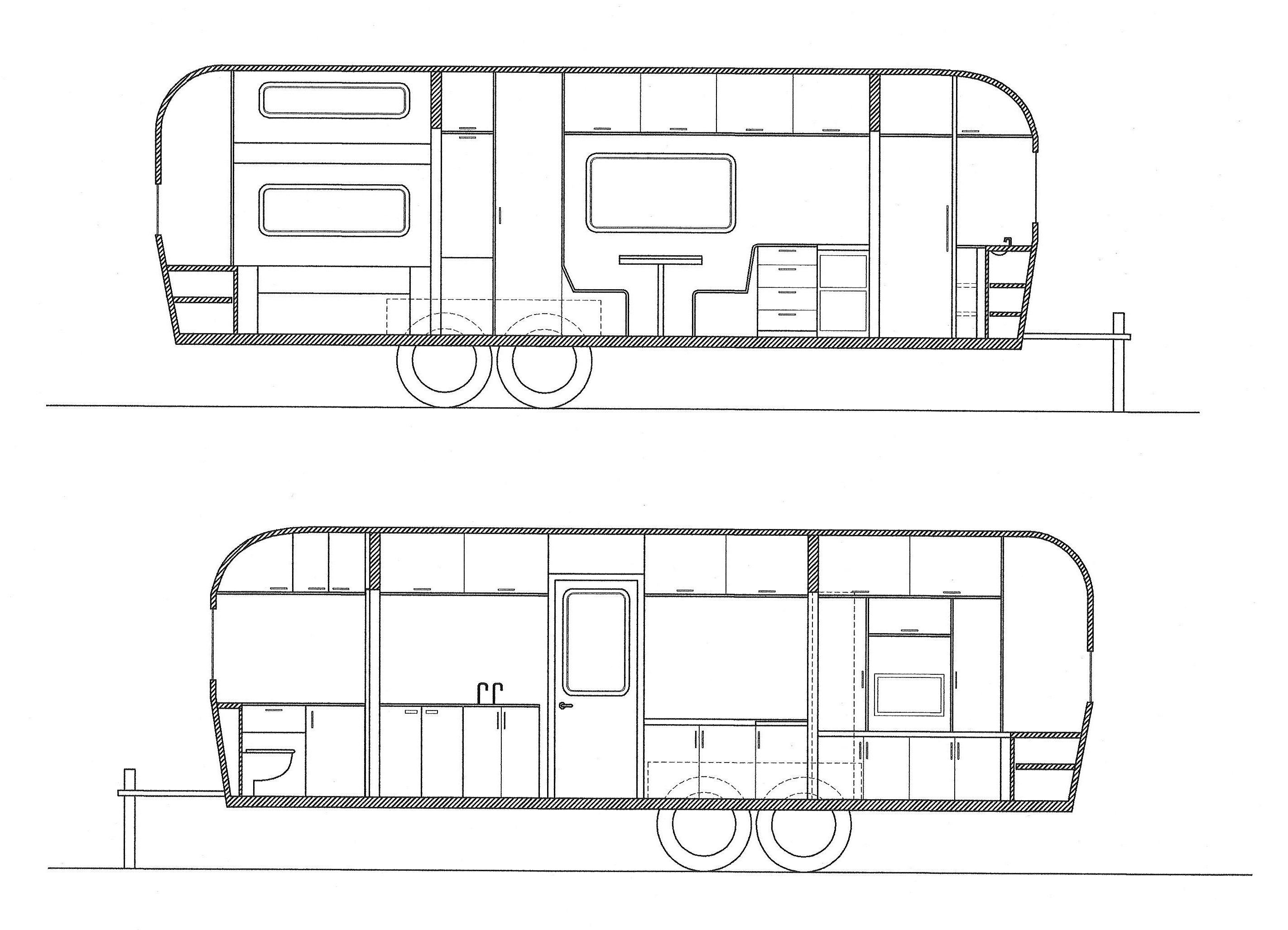 Migrant Workers Designing A Caravan