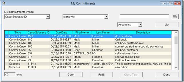 MyCommitments