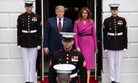 Fashion Notes: Melania Trump Steps Out in Fuchsia French Luxury