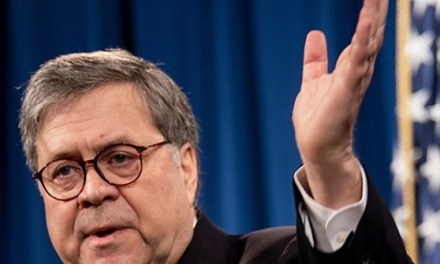 Reporter Whines to AG Barr: Where's Robert Mueller, 'This Is His Report'
