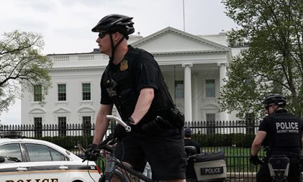 Man Attempts to Light Jacket on Fire Outside the White House