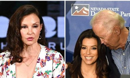 Ashley Judd Rips Joe Biden's Hair-Sniffing: 'I'm Very Uncomfortable Looking At Those Images'