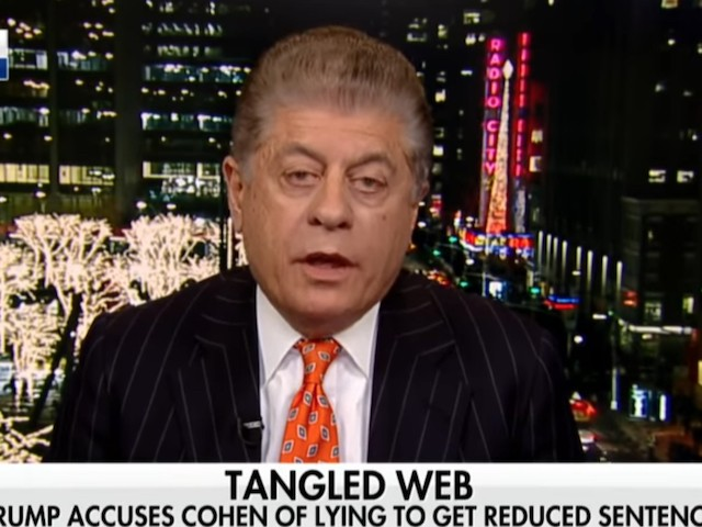FNC's Napolitano on Dems Pursuing Obstruction: 'May Very Well Explode in Their Faces'