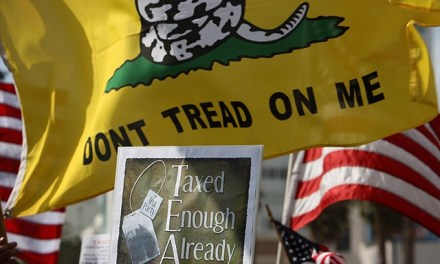 Tea Party Marks 10 Years with 400 'Stop Socialism, Choose Freedom' Tax Day Rallies