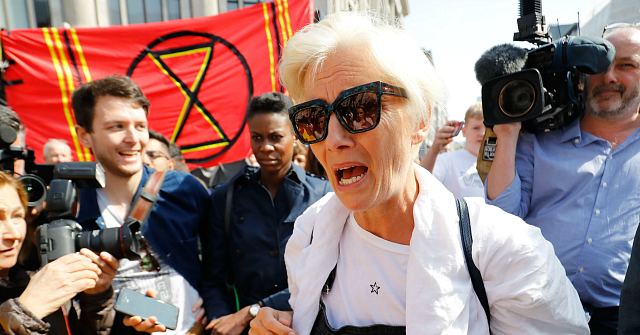 Emma Thompson Flies 5,400 Miles to Protest Climate Change