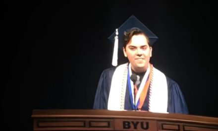 'I am proud to be a gay son of God': Brigham Young valedictorian comes out during graduation speech
