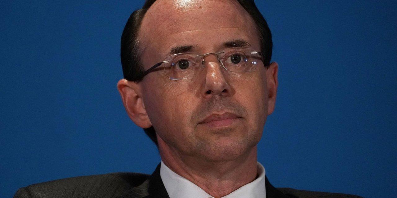 Breaking: Deputy Attorney General Rod Rosenstein hands in his resignation