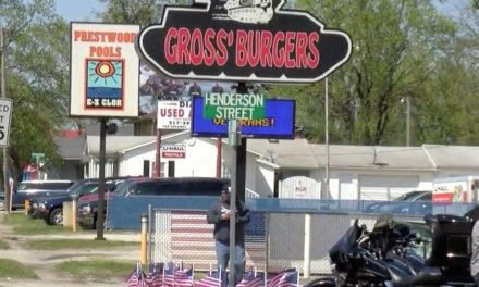 Burger restaurant defends pro-Marine sticker some are calling 'racist'