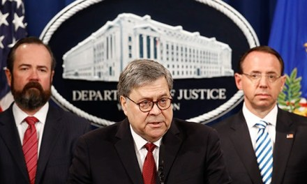Full Remarks: AG William Barr Announces Release of Mueller Report