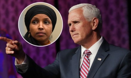 Pence: Ilhan Omar Has 'No Place' on House Foreign Affairs Committee
