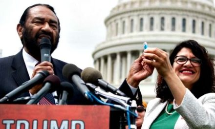 Only Two House Democrats Show Up for Impeach Trump Rally