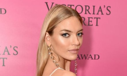 Martha Hunt Rocks Instagram With Revealing Lingerie Photo