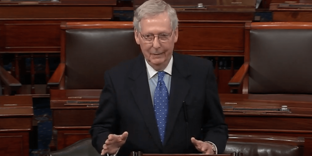 WATCH: Mitch McConnell mocks Dems for 'publicly working through the 5 stages of grief' over Mueller report findings