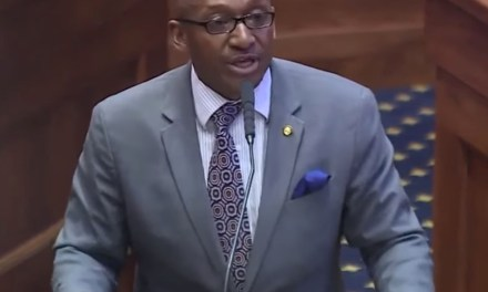 Democrat melts down over anti-abortion bill, says lawmakers 'raped' Alabama and 'aborted' the state