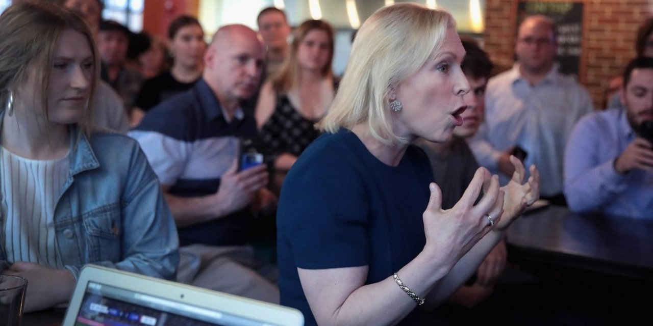 Democratic presidential candidate Kirsten Gillibrand wants to purge any remaining pro-lifers from Democratic Party