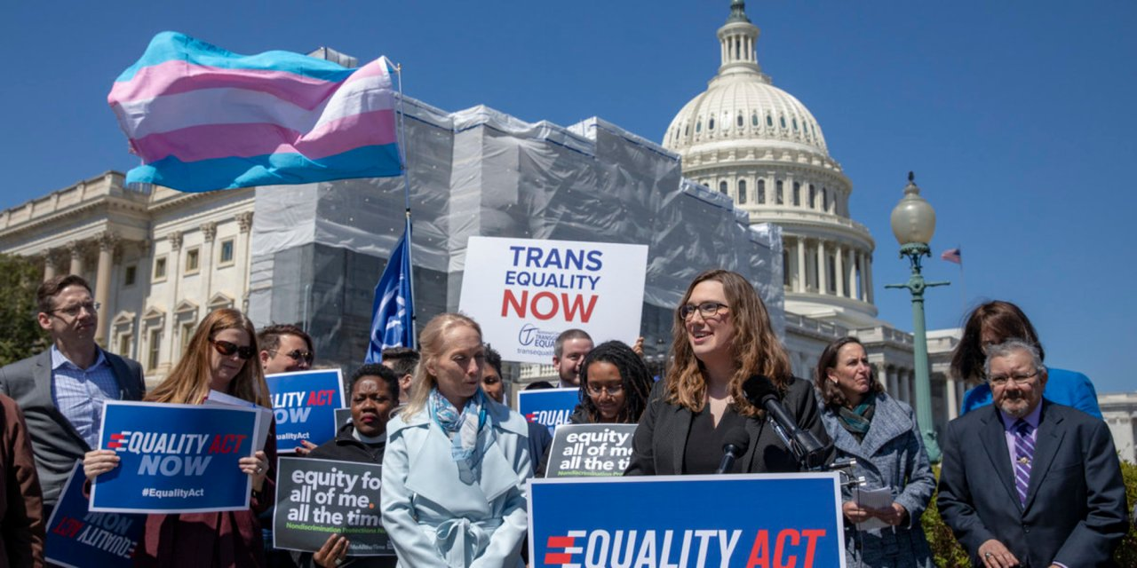 Eight Republicans join House Democrats to pass Equality Act to add more protections for sexual orientation and gender identity