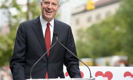 Bill de Blasio's presidential campaign could backfire — and leave him jobless