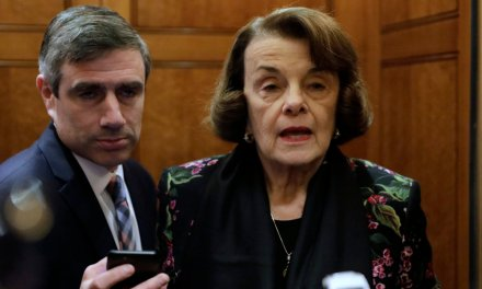 Why did Dianne Feinstein secretly meet with Iranian official amid flaring tensions?