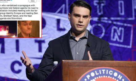 BuzzFeed attempts to link Ben Shapiro — an Orthodox Jew — to man who vandalized synagogue with Nazi symbols