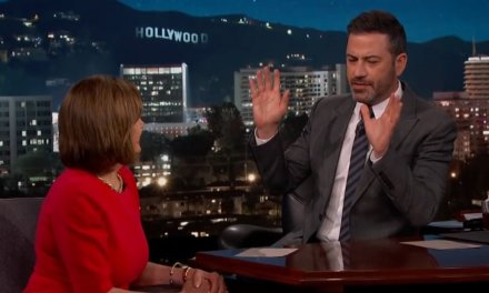 Jimmy Kimmel fawns over 'warrior' Pelosi as he practically begs her to lock up Trump and company