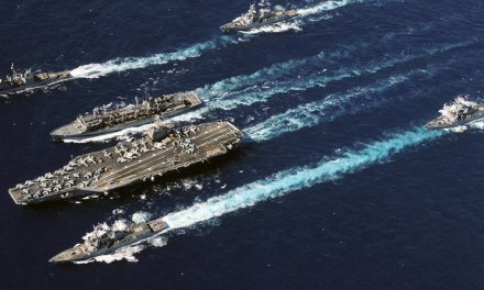 U.S. deploys carrier strike group and bomber task force to send 'unmistakable message' to Iran