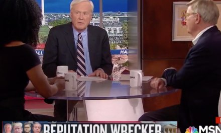 Black guest fires back at MSNBC's Chris Matthews after he asks if campaign job was akin to slavery
