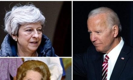 Joe Biden Confuses British PM Theresa May with Margaret Thatcher