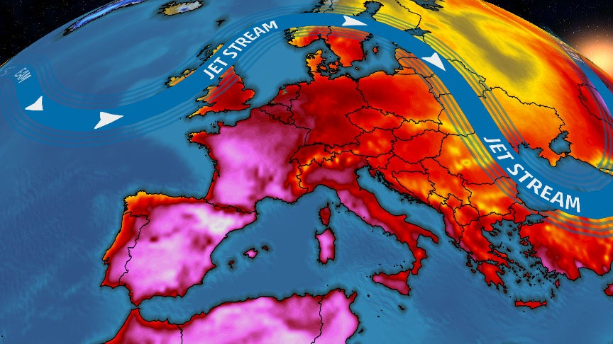 European Heat Wave Shatters June Records in 6 Nations and France Set a New All-Time Record | The Weather Channel