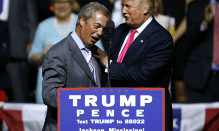 Nigel Farage Hails Anglo-American 'Hand of Friendship' During Trump Visit
