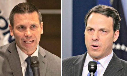 Kevin McAleenan Hosts CNN's Jake Tapper for Off-the-Record Meeting