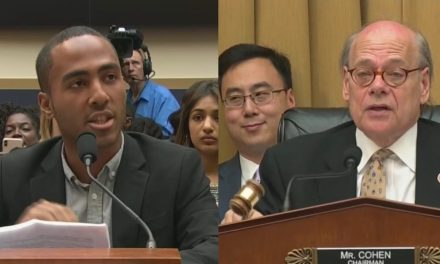 'Chill, Chill, Chill, Chill!': Congressional Hearing Explodes As Witness Trashes Slavery Reparations Bill