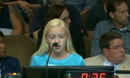 SCARY: 13-year-old girl relentlessly shouted down during pro-life speech