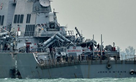 Pentagon sends stern message to White House over USS John McCain debacle