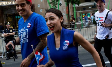 AOC allegedly literally ran from a Republican challenging her for seat