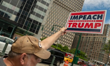 Far-left activists held '#ImpeachTrump' rallies across US — but hardly anyone showed up