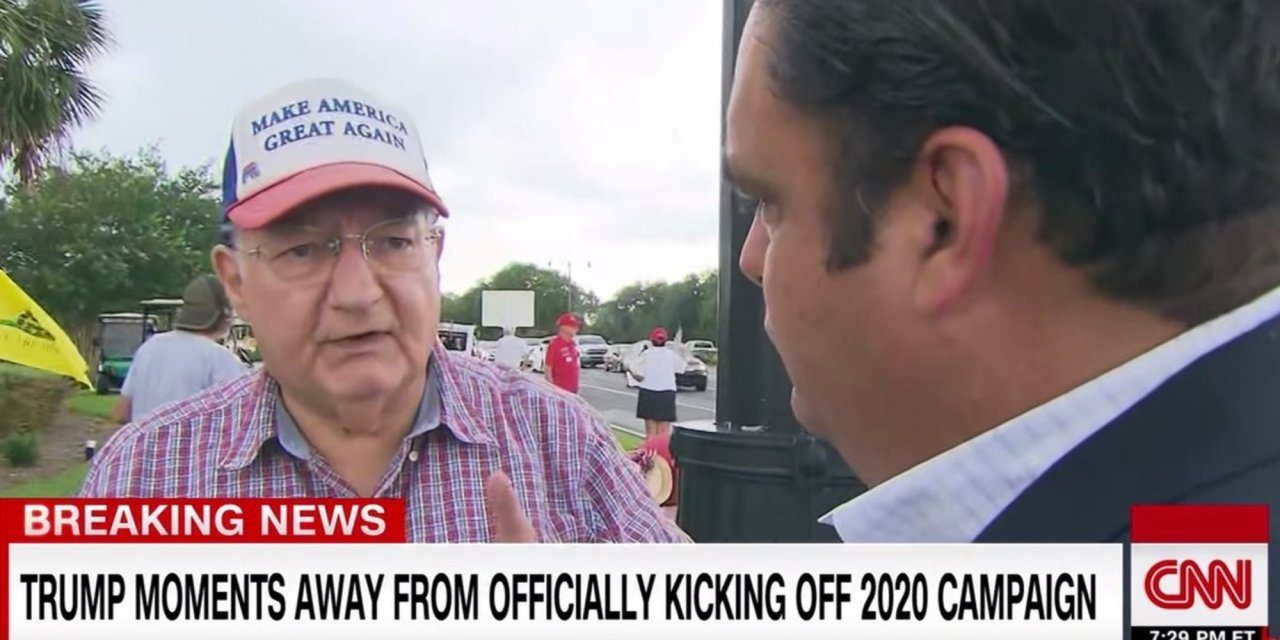 Trump supporter stuns CNN reporter in interview before Florida re-election rally