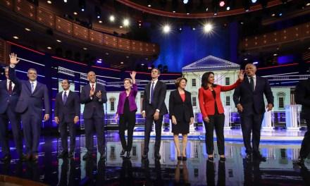 Google analytics suggest a surprising winner of the first Democrat debate