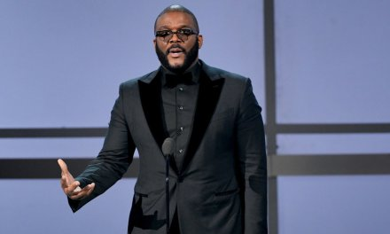 Actor and director Tyler Perry praises God during moving award acceptance speech: 'God will prepare' a table for me 'in the presence of mine enemies'
