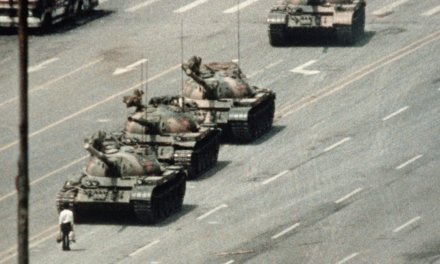 CBS News crew arrested in China for showing people pictures of Tiananmen Square