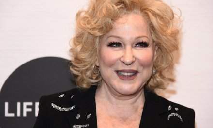 'Washed up psycho' Bette Midler jokes that someone should stab President Trump