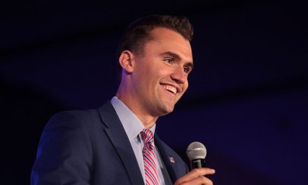 Charlie Kirk: Teens Camped Out Overnight to See Trump's TPUSA Speech